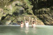 トゥマログの滝、オスロブジンベイザメツアー@allblue