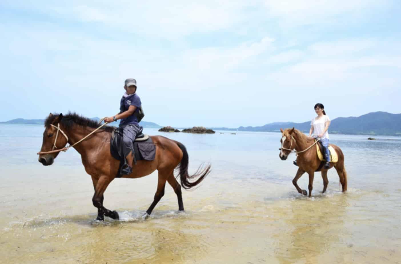 石垣島 アクティビティー ホースライディング 波ん馬